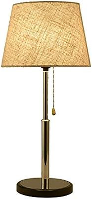 H.JPT Lámpara de Mesa Redonda Moderna Lámparas de Escritorio