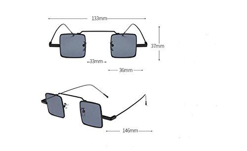 du lunettes retro métallique de style A polarisées Grise inspirées cercle soleil rond en Feuille vintage Lennon qafwIAa