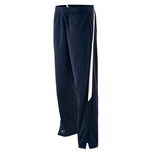 Holloway Agil-Knit Adult Youth Determination Pants NAVY/WHITE