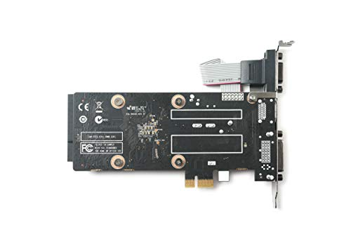 ZOTAC GeForce GT 710 1GB DDR3 PCIE x 1 , DVI, HDMI, VGA, Low Profile Graphic Card (ZT-71304-20L) by ZOTAC (Image #3)