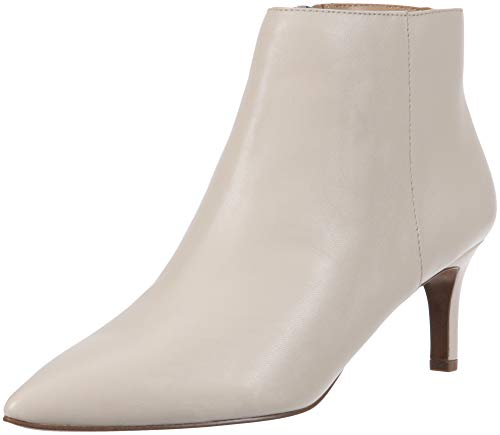 Ivory Booties - Franco Sarto Women's Devon Ankle Boot, Ivory, 8 M US