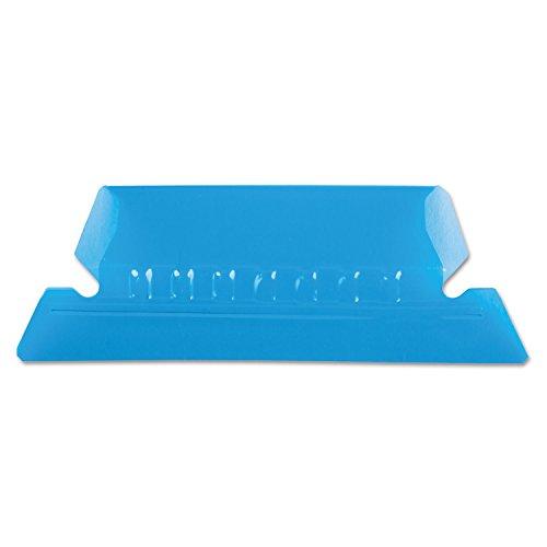 Pendaflex PFX42BLU Hanging Folder Tabs, Blue, Plastic, PK25