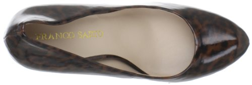 Franco Sarto Kvinners Cicero Pumpe Brun Leopard Patent