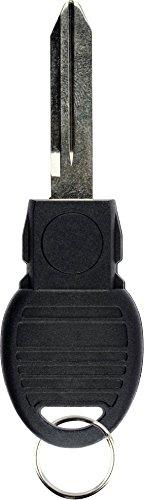 KeylessOption Replacement Keyless Entry Remote Blade Blank Insert for Smart Prox Key