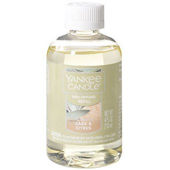 Yankee Candle Sage and Citrus Reed Diffuser - Refills Oil Diffuser