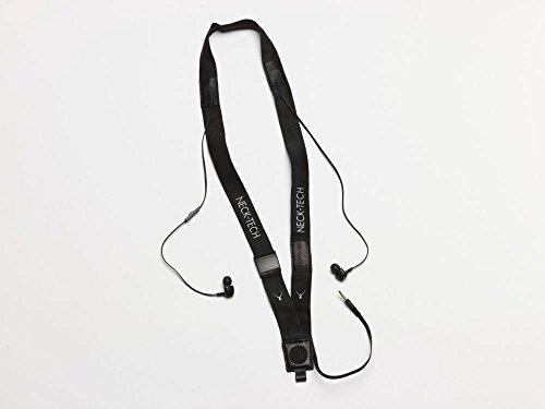 Neck Tech One Kabelgebundenes Head-Set für Handys Halsband mit integrierten Kopfhörern