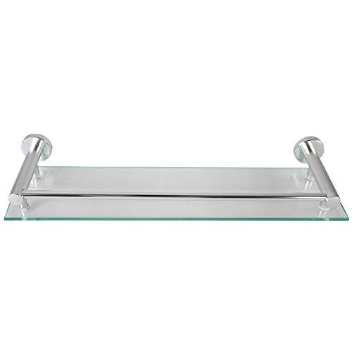 Aquamarin mensola bagno ripiano di vetro mensola vetro bagno mensola per bagno vetro temprato - Mensola vetro bagno ...