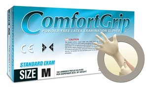 Microflex Comfortgrip Powder Free Medical Grade Latex Exam Gloves, X-Small (1000 Case) by Comfortgrip (Image #1)