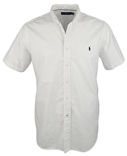 Polo Ralph Lauren Mens Button-Down Collar Short Sleeve Button-Down Shirt