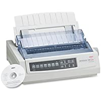OKI62411901 - Oki Microline 390 24-Pin Dot Matrix Turbo Printer