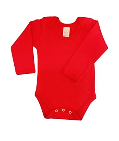 579b8f93de7e Amazon.com  Babywearuk British Made Body Vest Env Neck Long Sleeved ...