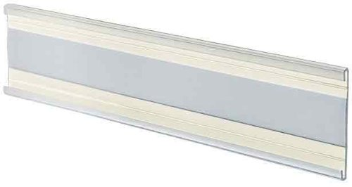 Azar Displays 199607 6-Inch Width by 2-Inch Height Adhesive Back Nameplate, 10-Pack