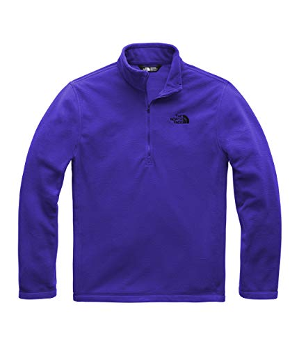 The North Face Men's TKA 100 Glacier 1/4 Zip Aztec Blue Small