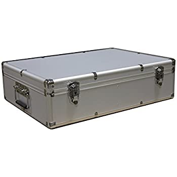 1000 CD DVD Silver Aluminum Media Storage Case Mess-Free Holder Box with Sleeves no  sc 1 st  Amazon.com & Amazon.com: 1000 CD DVD Silver Aluminum Media Storage Case Mess-Free ...