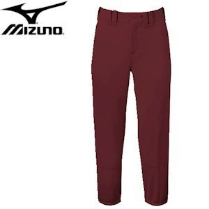 Mizuno Select Belted Low Rise Fastpitch Pant - Maroon - S by Mizuno