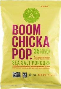 Angie'S Kettle Corn, Ppcrn, Boomchickapop, Sslt, Pack of 24, Size - .6 OZ, Quantity - 1 Case