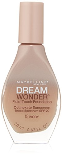 Maybelline New York Dream Wonder Fluid-Touch Foundation, Ivory, 0.67 Fluid Ounce