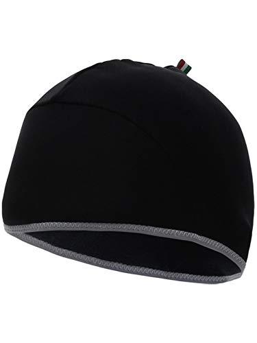 Santini Black 2018 Fashion Xf Skull Cycling Cap (Default, Black) ()