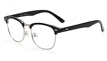 5e55e89ef53 Image Unavailable. Image not available for. Colour  BuyWorld Brand Design  Eyewear Frames Eye Glasses Frames for Women Men Male Eyeglasses Mirror  Ladies ...