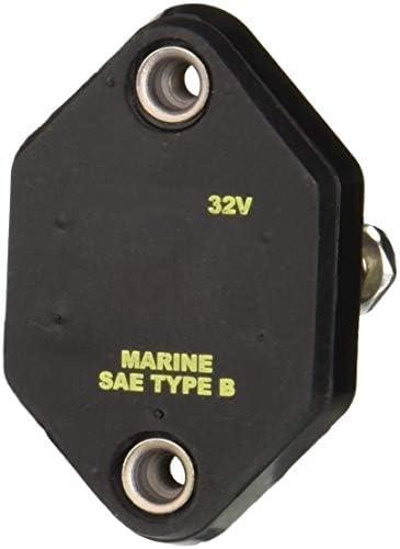 Witonics Marine Mid Range Auto Reset 20A Panel Mount Circuit Breaker 32V