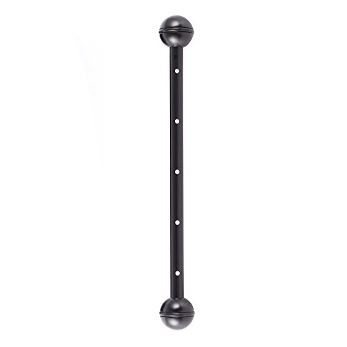 Foto4easy 12inch Double 1inch Ball Arm for Underwater Photography Housing System