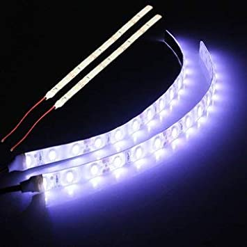 2pcs 25CM 12V 15LEDs 5630SMD Flexible Strip Lights