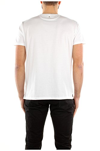 Camiseta Manga Corta Valentino Hombre Algodón Blanco KV0MG00V35U0BO Blanco S