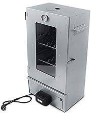 Activa Rökelseugn elektrisk 2000 watt elektronisk högkvalitativ röktugn elektrisk rökelskåp rökelskammare elektrisk rökare Bärbar rökare ca 80 cm Perfekt för rökning inklusive tillbehör
