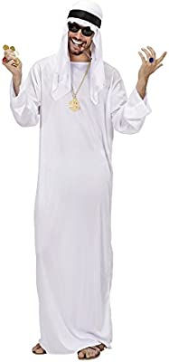 WIDMANN 75962 - Disfraz de jeque para hombre (talla M): Amazon.es ...