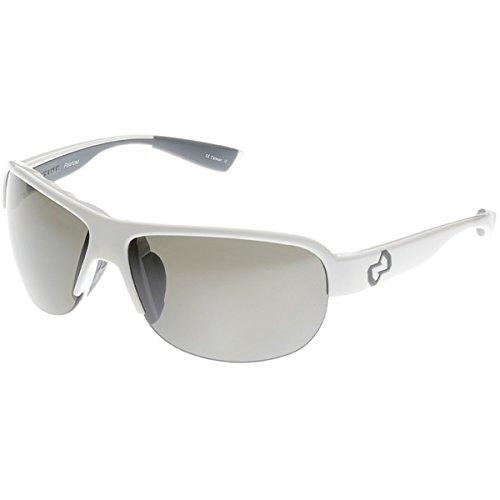 - Native Zodiac Interchangeable Polarized Sunglasses (Silver Reflex, Snow)