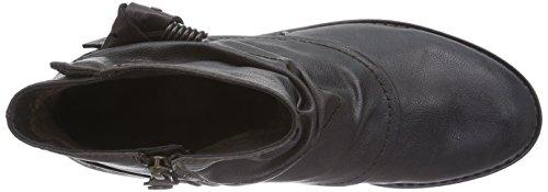 s.Oliver 2531 - botas de material sintético mujer gris - Grau (Graphite/Cafe 218)