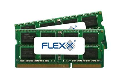 Non Ecc Unbuffered Memory Module - Flexx ram Memory 8GB kit (4GBx2) DDR3 PC3-8500 1067MHz 204-Pin SODIMM (for Mac)
