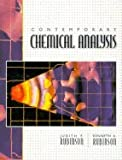 Contemporary Chemical Analysis and Lab Manual, Pkg, Rubinson and Rubinson, Judith F., 0130826553
