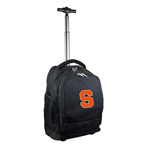 NCAA Syracuse Orange Expedition Wheeled Backpack, 19-inches, Black