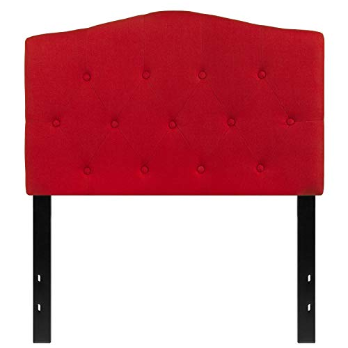 MFO Diana Collection Twin Size Headboard in Red Fabric