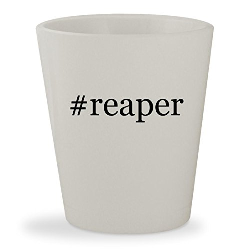 Price comparison product image #reaper - White Hashtag Ceramic 1.5oz Shot Glass