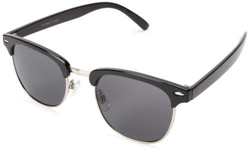 A.J. Morgan Soho 53394 Rectangular Sunglasses,Black,52 - Sunglasses Soho