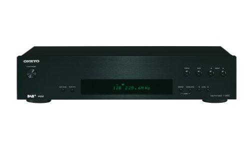 Onkyo T-4030 (B) DAB+/DAB/FM-Tuner (40 UKW Senderspeicher) schwarz