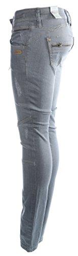 mujer gris Gang Jeans para Vaqueros wCxxBIt1q
