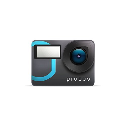 Procus Epic 4K 12MP Action Camera, Touchscreen, Waterproof with WiFi 20 + Accessories
