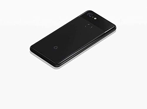 Google Pixel 3 (64GB, 4GB RAM) 5.5 QHD+, IP68 Water Resistant, Snapdragon 845 GSM/CDMA Factory Unlocked (AT&T/T-Mobile/Verizon/Sprint) (Just Black, 64GB) (Renewed)