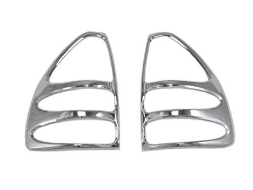 2pcs ABS Rear Tail Light Lamp Cover Trim Chrome For Toyota Prado FJ120 2003-2009 (Toyota Prado Lamp compare prices)