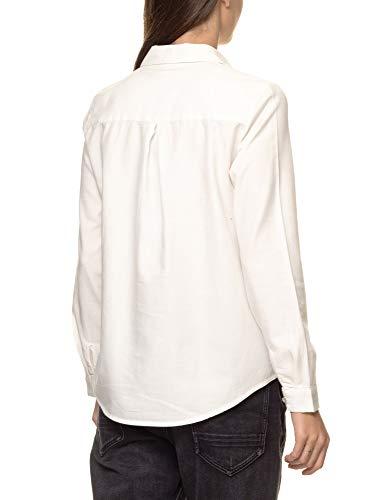Jeans Garcia Lunga White Donna Manica Camicia H1d1SqxF