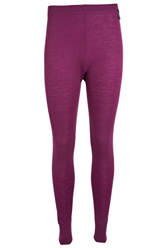 Mountain Warehouse Merino Womens Pants Berry - Warehouse Womens