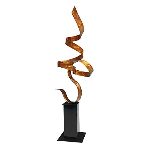 Abstract Metal Sculpture - Copper Perfect Moment
