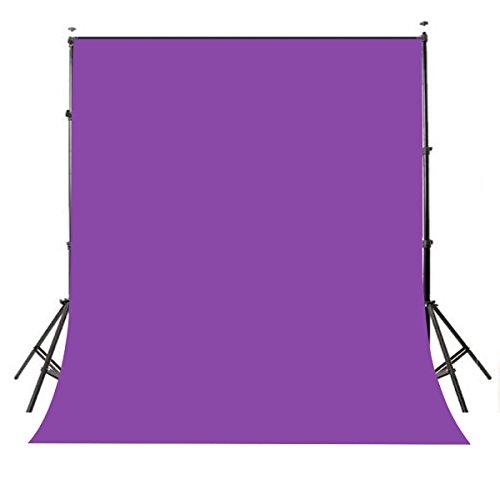 Mehofoto 5x7ft Purple Polyester Curtain Backdrop Portraits Photoshoot Video Photo Studio Props Party Dessert Table
