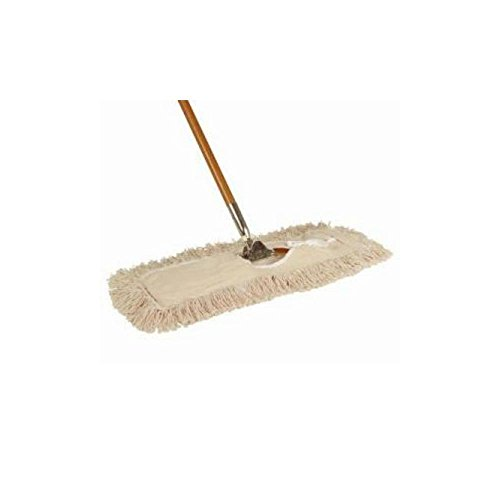 24' Mop (Abco 5'' X 24'' Dust Mop And Handle JW-BH-29524)
