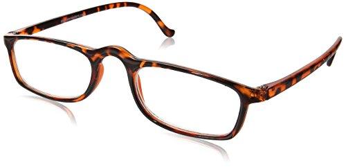 Dr. Dean Edell Calexico Reading Glasses, Tortoise (+2.00)