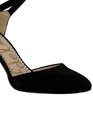 En Daim Sandales Sandales Noir Daim Edelman En Noir F5669l200 Sam F5669l200 Femmes ntBqH0H7w