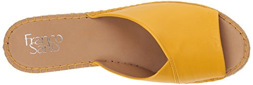 Franco Sarto Mujeres Pinot Espadrille Wedge Sandal Summer Yellow